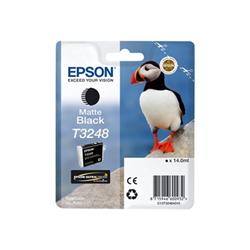 Epson - Cart.inch nero matte puffin 14ml