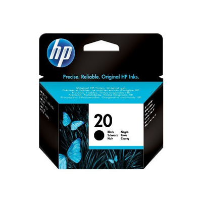 HP - CART. INCHIOSTRO NERO HP N.20(28ML)