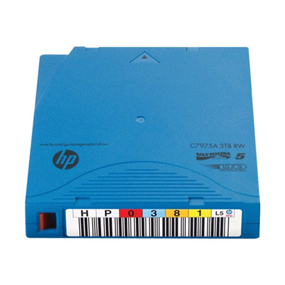 Hewlett Packard Enterprise - LTO-5 RW RFID  LABELED 20 PACK