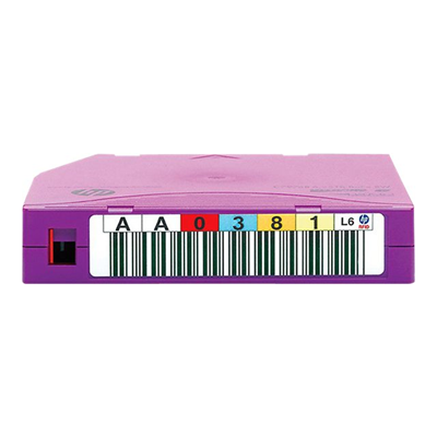 Hewlett Packard Enterprise - HP LTO-6 ULTRIUM  MP RW RFID  6.25
