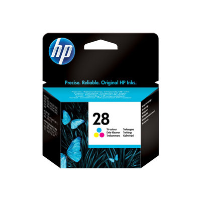 Cartuccia inkjet HP - CART.INK TRICROMIA HP N.28 BLISTER