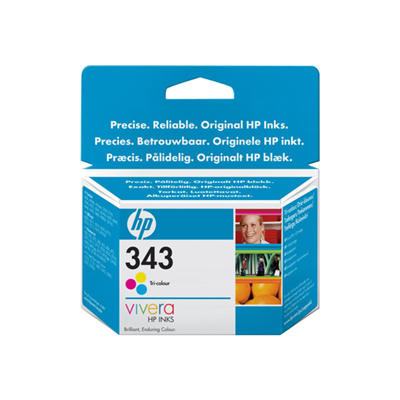 Cartuccia inkjet HP - CART.INK TRI-COLOUR N.343  BLISTER