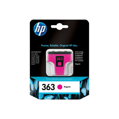 Cartuccia inkjet HP - HP 363 MAGENTA INK CARTRIDGE BL