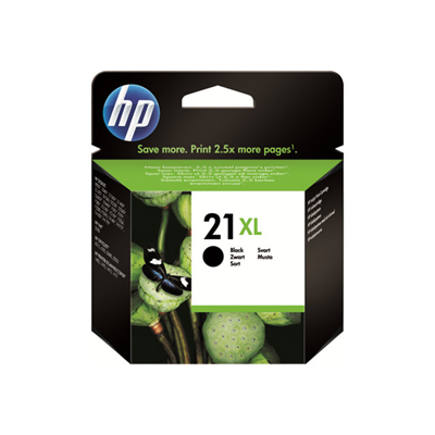 HP - CARTUCCIA 21XL BLACK BLISTER