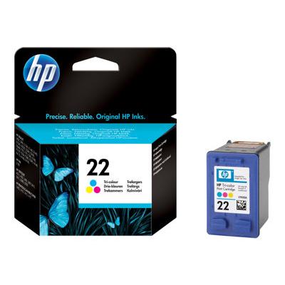Cartuccia inkjet HP - CARTUCCIA INKN°22 TRICROMIA BLISTER