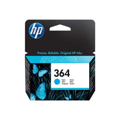 HP - CARTUCCIA INK CIANO N.364 BLISTER