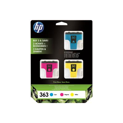 Cartuccia inkjet HP - CF.3 CART.363 CIANO-MAG-GIALLO BLIS