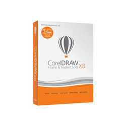 Software Corel - Coreldraw home and student suite x8
