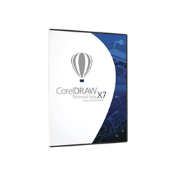 Software Corel - Coreldraw technical suite x7 ml