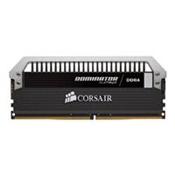 Barrette RAM Corsair Dominator Platinum - DDR4 - 16 Go: 2 x 8 Go - DIMM 288 broches - 3000 MHz / PC4-24000 - CL15 - 1.35 V - mémoire sans tampon - non ECC