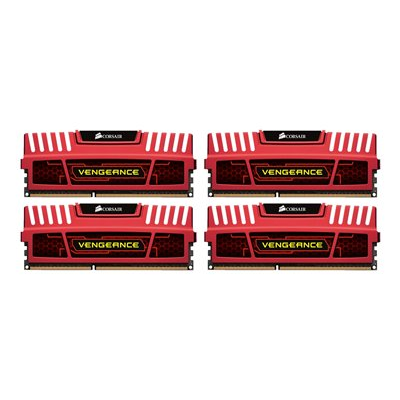 Corsair - 32GB KIT DDR3 1866MHZ RED FOR INTEL