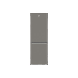 R�frig�rateur Beko CN232131T - R�frig�rateur/cong�lateur - pose libre - largeur : 60 cm - profondeur : 60 cm - hauteur : 185 cm - 287 litres - cong�lateur bas - Classe A++ - inox