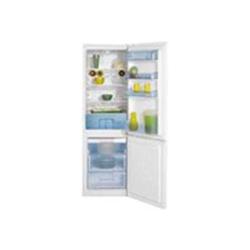 Réfrigérateur Beko Green line CSA 29023 - Réfrigérateur/congélateur - pose libre - largeur : 54 cm - profondeur : 60 cm - hauteur : 171 cm - 237 litres - congélateur bas - classe A+ - blanc