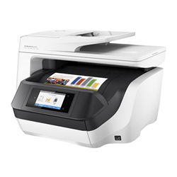 Imprimante  jet d'encre multifonction HP Officejet Pro 8720 All-in-One - Imprimante multifonctions - couleur - jet d'encre - Legal (216 x 356 mm) (original) - A4/Legal (support) - jusqu'à 37 ppm (copie) - jusqu'à 37 ppm (impression) - 250 feuilles - USB 2.0, LAN, Wi-Fi(n), hôte USB, NFC