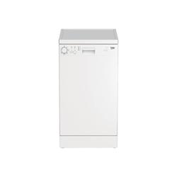 Lave-vaisselle Beko DFS05011W - Lave-vaisselle - pose libre - largeur : 45 cm - profondeur : 60 cm - hauteur : 85 cm - blanc