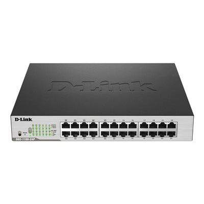 Switch D-Link - 24-PORT 10/100/1000MBPS POE