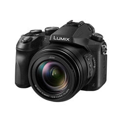 Appareil photo Panasonic Lumix DMC-FZ2000 - Appareil photo numérique - compact - 20.1 MP - 4K / 24 pi/s - 20x zoom optique - Leica - Wi-Fi - noir