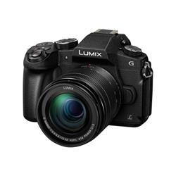 Appareil photo Panasonic Lumix G DMC-G80M - Appareil photo numérique - sans miroir - 16.0 MP - Quatre tiers - 4K / 30 pi/s - 5x zoom optique objectif 12 - 60 mm - Wi-Fi - noir