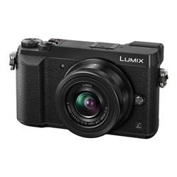 Appareil photo Panasonic Lumix G DMC-GX80W - Appareil photo numérique - sans miroir - 16.0 MP - 4K - 2.7 x zoom optique objectif 12-32 mm et 35-100 mm - Wi-Fi - noir