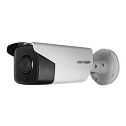 Caméscope pour vidéo surveillance Hikvision DS-2CD2T42WD-I5 - Caméra de surveillance réseau - extérieur - anti-poussière / étanche - couleur (Jour et nuit) - 4 MP - 2688 x 1520 - montage M12 - Focale fixe - LAN 10/100 - MJPEG, H.264 - CC 12 V / PoE
