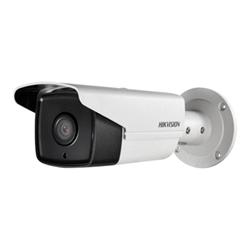Caméscope pour vidéo surveillance Hikvision EXIR Bullet Network Camera DS-2CD2T52-I5 - Caméra de surveillance réseau - résistant aux intempéries - couleur (Jour et nuit) - 5 MP - 2560 x 1920 - 720p, 1080p - montage M12 - Focale fixe - LAN 10/100 - MJPEG, H.264 - CC 12 V / PoE