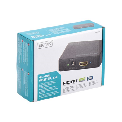 ITB Solution - 4K HDMI SPLITTER 1X2