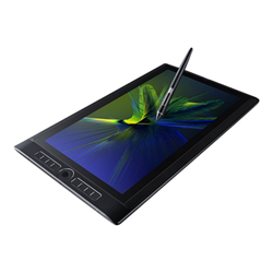 "Tablette graphique Wacom MobileStudio Pro DTH-W1620H - Tablette - Core i7 6567U / 3.3 GHz - Win 10 Pro - 16 Go RAM - 512 Go SSD - 15.6"" IPS écran tactile 3840 x 2160 (Ultra HD 4K) - Quadro M1000M - Wi-Fi, Bluetooth"