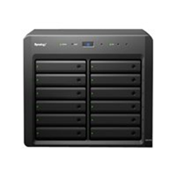 Synology DX1215 - Baie de disques - 12 Baies (SATA-600) x 0 - InfiniBand (externe)