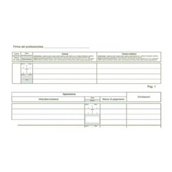Formulaire Edipro PROFESSIONISTI - Anti-money laundering register - 47 feuilles - 310 x 245 mm