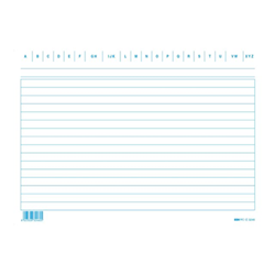 Formulaire Edipro - Lined card - 100 pages - 150 x 210 mm
