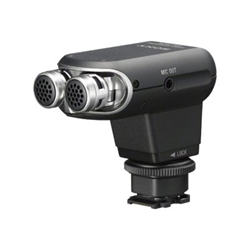 Sony ECM-XYST1M - Microphone - pour Cyber-shot DSC-RX10; Handycam FDR-AX53, AXP55, HDR-CX450, CX455, CX485; a6300; a6500