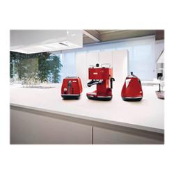 Macchina da caffè De Longhi - Icona eco 311.r rosso