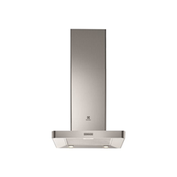 Hotte Electrolux EFB60445OX - Capot - hotte décorative - largeur : 59.8 cm - profondeur : 50 cm - evacuation & recyclage - inox