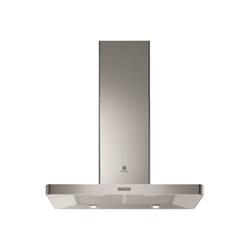 Hotte Electrolux EFB90445OX - Capot - hotte décorative - largeur : 89.8 cm - profondeur : 50 cm - evacuation & recyclage - inox