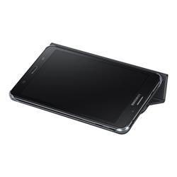 Coque Samsung Book Cover EF-BT285 - Protection à rabat pour tablette - noir - pour Galaxy Tab A (7 po), Tab A (2016) (7 po)