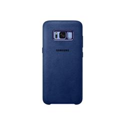 Coque Samsung Alcantara Cover EF-XG950 - Coque de protection pour téléphone portable - alcantara - bleu - pour Galaxy S8