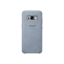 Coque Samsung Alcantara Cover EF-XG950 - Coque de protection pour téléphone portable - alcantara - menthe - pour Galaxy S8