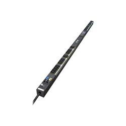 Eaton ePDU G3 Managed - Unité de distribution secteur (rack-montable) - Ethernet 10/100, RS-232 - entrée : IEC 60309 32A - connecteurs de sortie : 24 - 0U