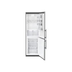 Réfrigérateur Electrolux EN3618MFX - Réfrigérateur/congélateur - pose libre - largeur : 59.5 cm - profondeur : 64.7 cm - hauteur : 184 cm - 329 litres - congélateur bas - Classe A++ - gris/inox