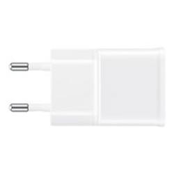 Chargeur Samsung EP-TA20EWEU - Adaptateur d'alimentation - CA/USB - 2000 mA (USB (alimentation uniquement)) - blanc - pour Galaxy Note 4