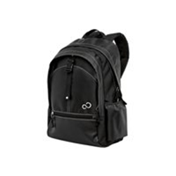"Sacoche Fujitsu Casual Backpack 16 - Sac à dos pour ordinateur portable - 16"" - noir/gris - pour ESPRIMO Mobile M9415, X9515; LIFEBOOK E554, E744, E754, E8420, S710, T730, T900, TH700"