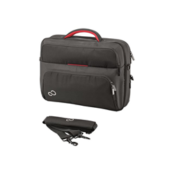 """Sacoche Fujitsu Prestige Case 15 - Sacoche pour ordinateur portable - 16"""" - noir/rouge"""