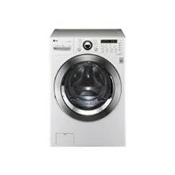 Lave-linge LG 6 Motion Direct Drive F1255FD - Machine � laver - pose libre - largeur : 68.6 cm - profondeur : 75.6 cm - hauteur : 98.3 cm - chargement frontal - 112 litres - 15 kg - 1200 tours/min