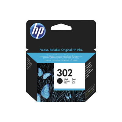 Cartuccia inkjet HP - HP 302 BLACK INK CARTRIDGE