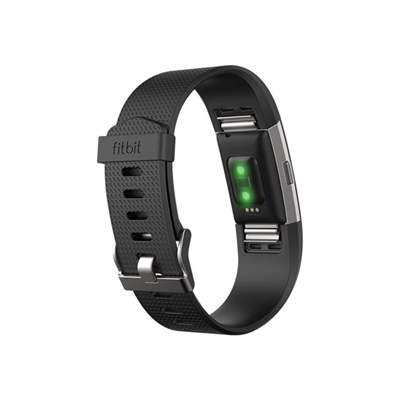 Fitbit - CHARGE 2 - LARYON - NERO ARGENTO LA