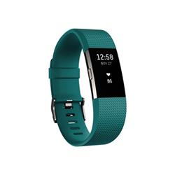 Sportwatch Fitbit - CHARGE 2 LARYON VERDE ACQUA-ARGENTO