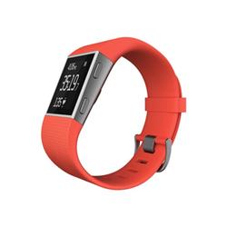 Smartwatch Fitbit - Fitbit surge - mandarino - large