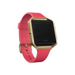 Smartwatch Fitbit - Blaze slimp rosa - gold  large