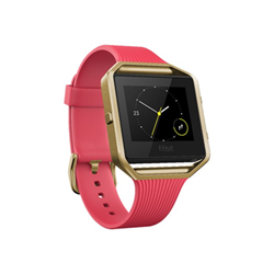 Smartwatch Fitbit - Blaze slimp rosa - gold small