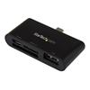 lettore memory card Startech - Lettore multischede per